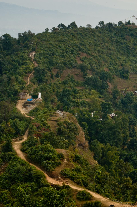 Photo: Pokhara, Nepal, seen from the World Peace Pagoda.