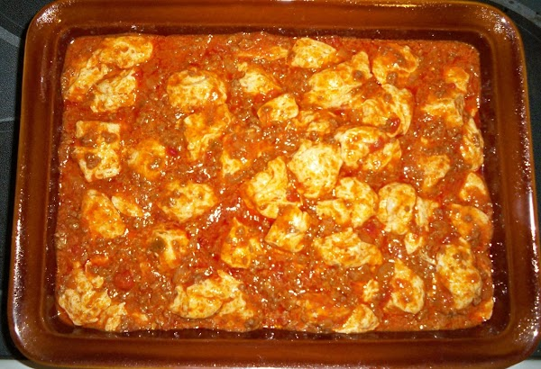 Pour mixture into a greased casserole and bake for 25 minutes. If doubling recipe,...
