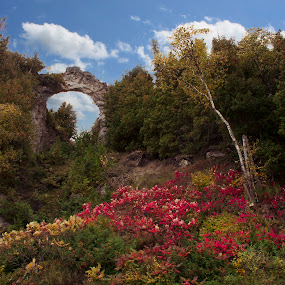 Arch Rock Mackinac Island by Gary Poulsen - Novices Only Landscapes ( mackinac, arch rock )