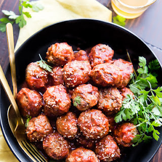 Gluten-Free Turkey Meatballs.