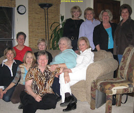 Photo: Reunionettes at Mary Austin's home, 2/17/2010