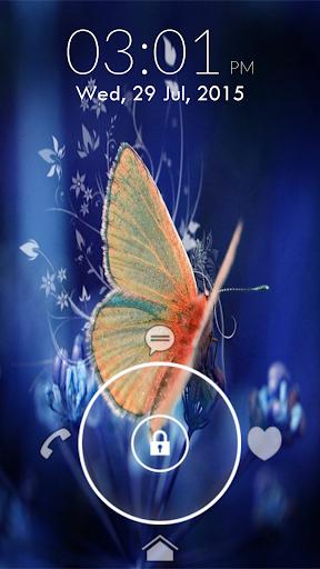 Butterfly Lock Screen