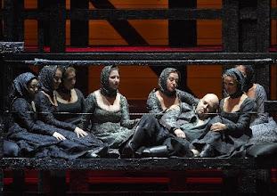 Photo: CHOWANSCHTSCHINA am Wiener Staatsoper 20.9.2015. Dimitri Bellosselskiy. Foto: Wiener Staatsoper/ Pöhn