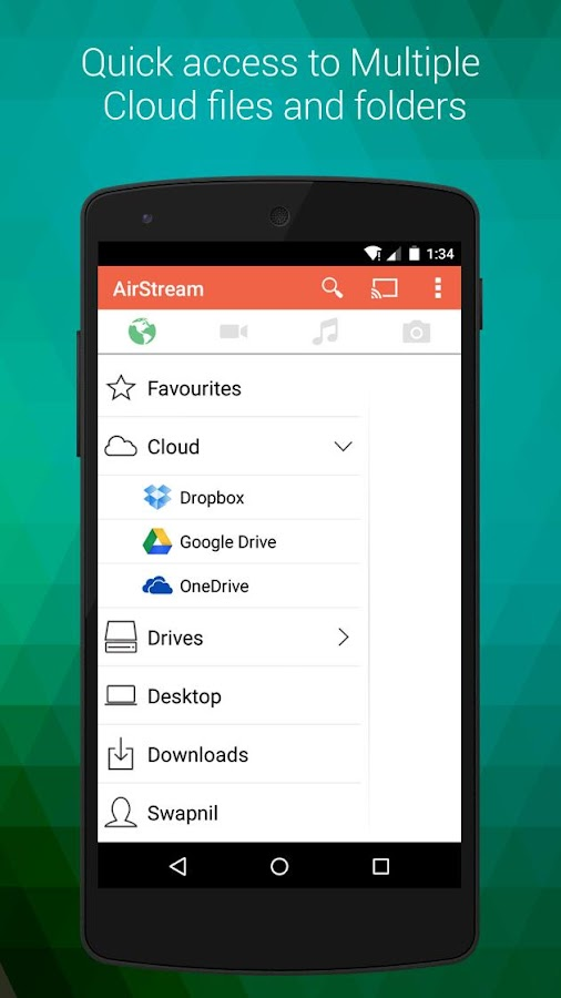 AirStream: Stream PC on mobile - screenshot