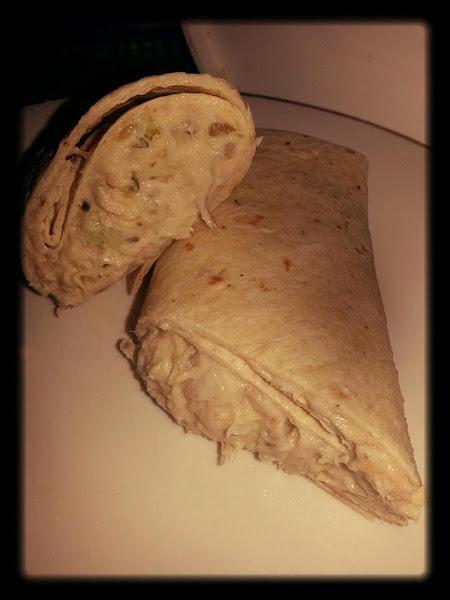 Chicken Pecan Wrap Recipe