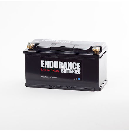 Endurance Litium 12V 96Ah Heat