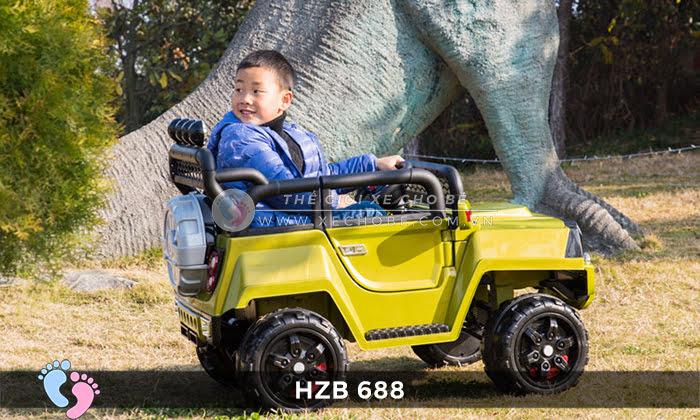 Xe ô tô điện cho bé Jeep HZB-688 4