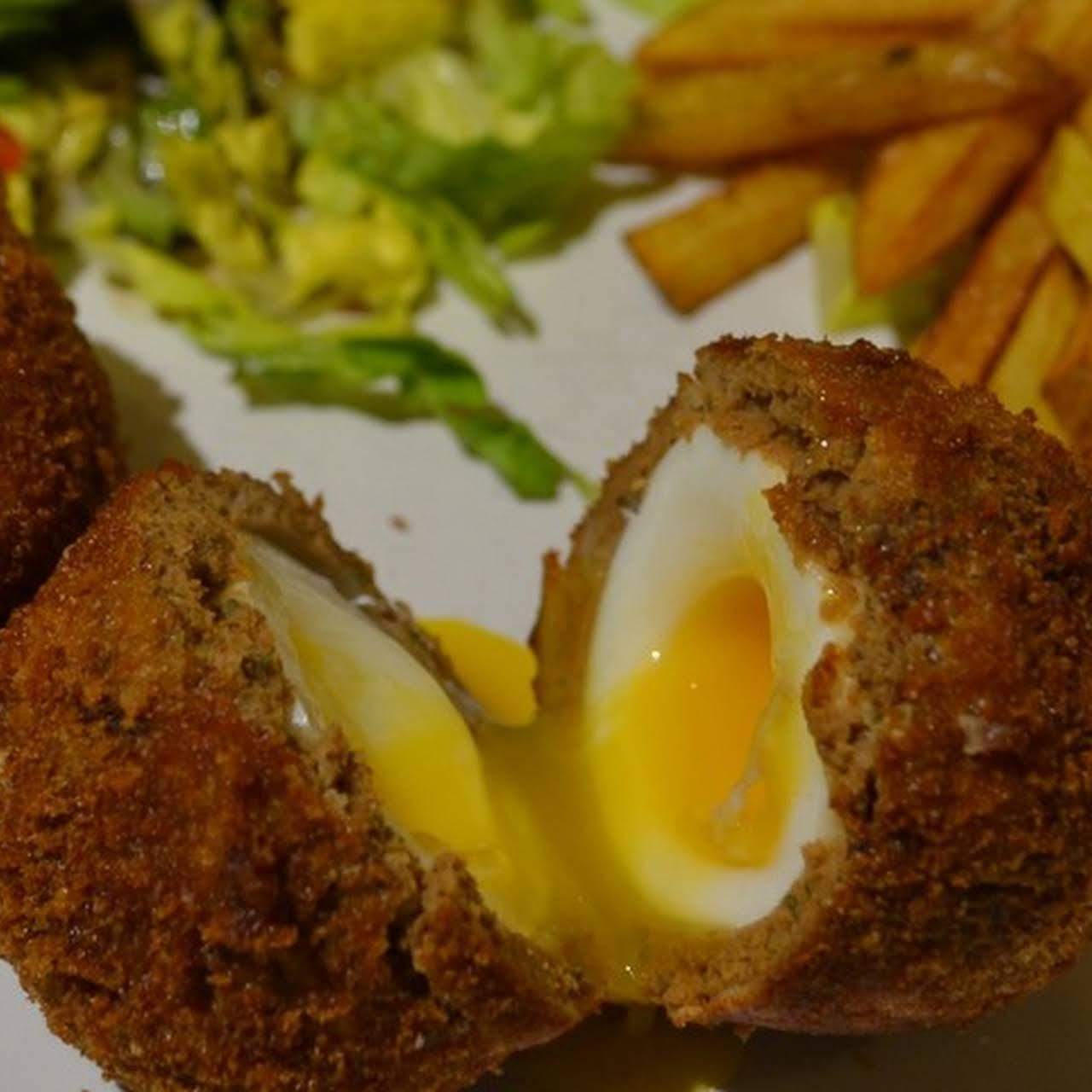 Vegetarian Scotch Eggs