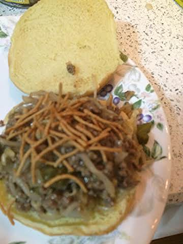 Chow Mein Burgers