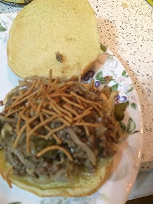 Chow Mein Burger