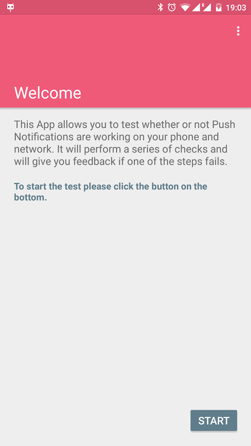Push Notification Tester- screenshot