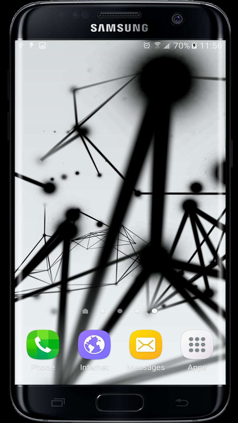 Abstract Particles Wallpaper Screenshot 0