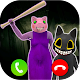Scary Cartoon Cat vs Piggy Chapter 12 Call Game