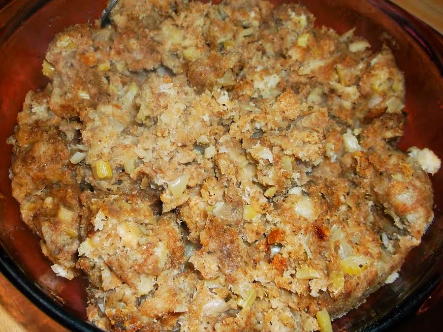 Mom's Turkey Stuffing Recipe | Just A Pinch Recipes