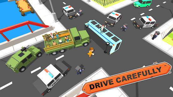 Blokový Vegas Crime Simulator: Vojenský přeživší a - náhled