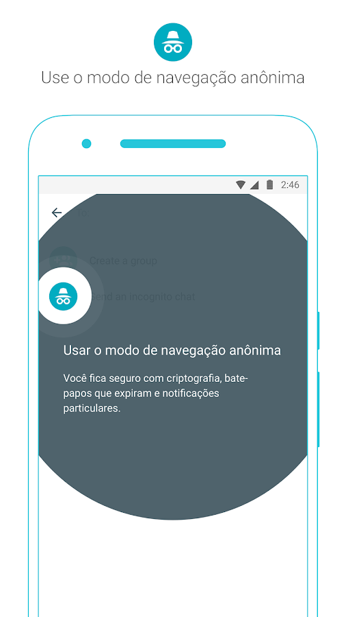 Google Allo: captura de tela