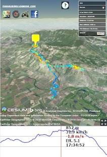 Paragliding Recorder & Logbook - náhled