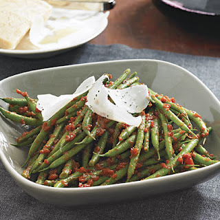 Italian Green Beans with Tomatoes and Balsamic