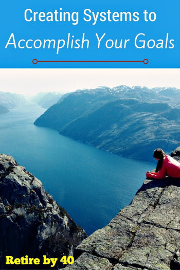 Creating Systems to Accomplish Your Goals