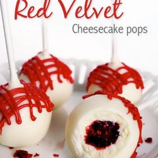 Red Velvet Cheesecake Pops.