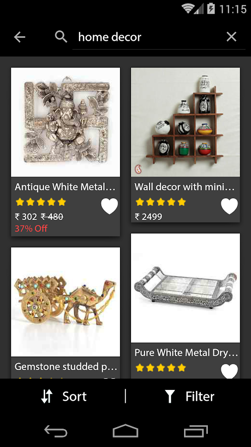 Home decor online shopping android apps on google play - Home interior online shopping ...
