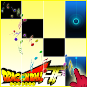 Super Dragon Ball Piano Tiles Magic Game