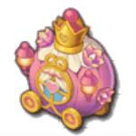 ピンクのパレードカー