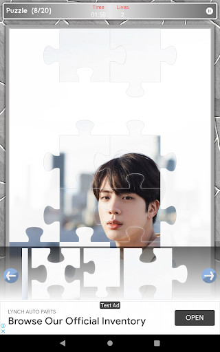 Jin BTS Game Puzzle android2mod screenshots 10