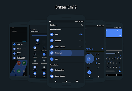 Britzer - CM12 / CM11 Theme v2.9