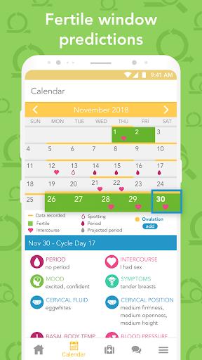 Ovia Fertility: Ovulation & Cycle Tracker 2.3.8 screenshots 5