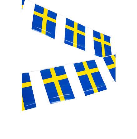 Flaggirlang, Sverige 6 m