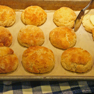 Gluten-Free, Low-Carb Yogurt Biscuit