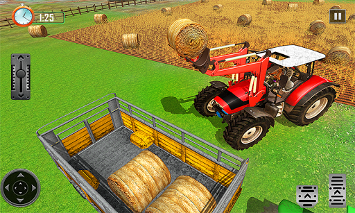 Farming Tractor Driver Simulator : Tractor Games apktreat screenshots 2