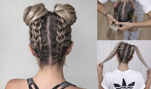 Girls Hairstyles Video Tutorials - náhled