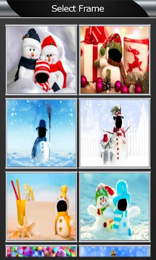 雪人聖誕蒙太奇|玩攝影App免費|玩APPs