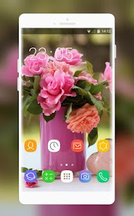 Theme for Intex Lions G10 Flower Wallpaper - náhled