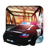 Police Car Driving: Turbo