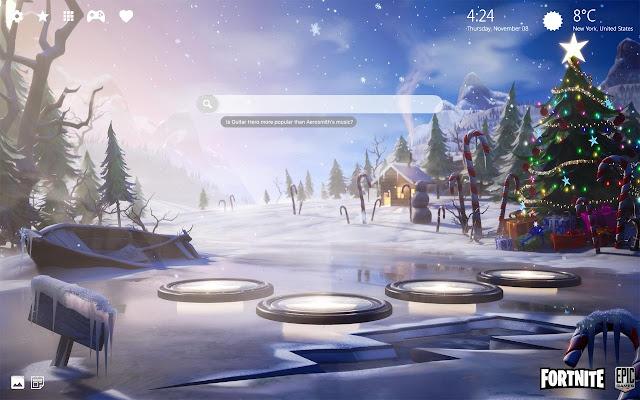 Fortnite Christmas Background Png.Fortnite Christmas Wallpaper Hd Theme