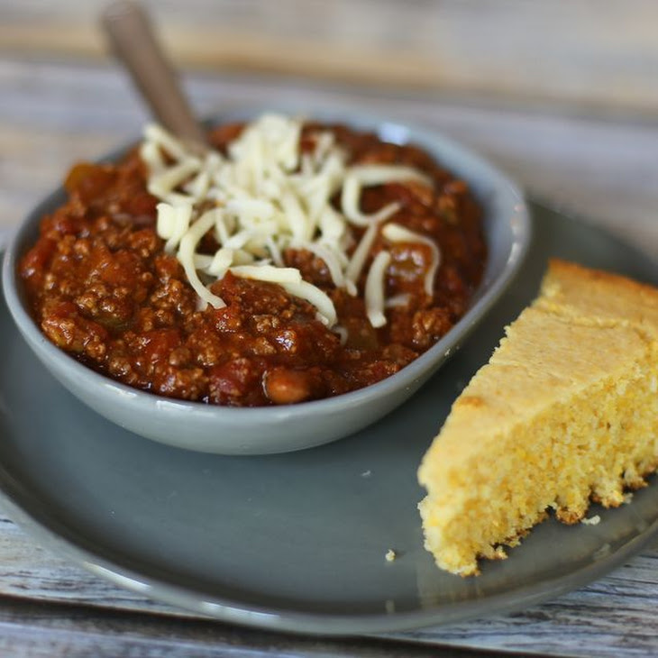 Quick and Easy Ground Beef Chili With Beans