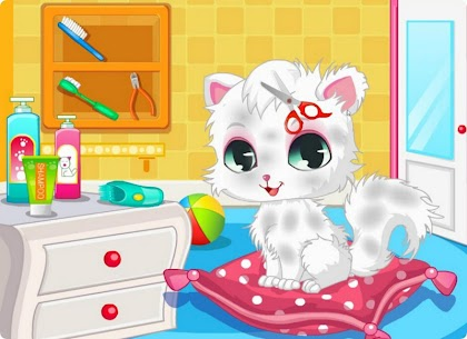Pet Cat Spa And Salon Games HD 1.1.2 Mod APK Updated Android 2