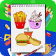 Download How to draw food items step by step For PC Windows and Mac