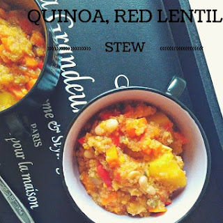 Quinoa and Red Lentil Stew