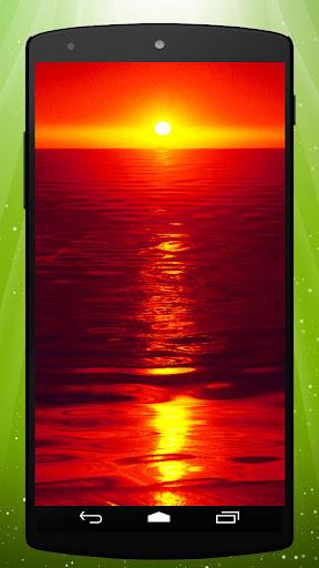 Hot Sunset Live Wallpaper