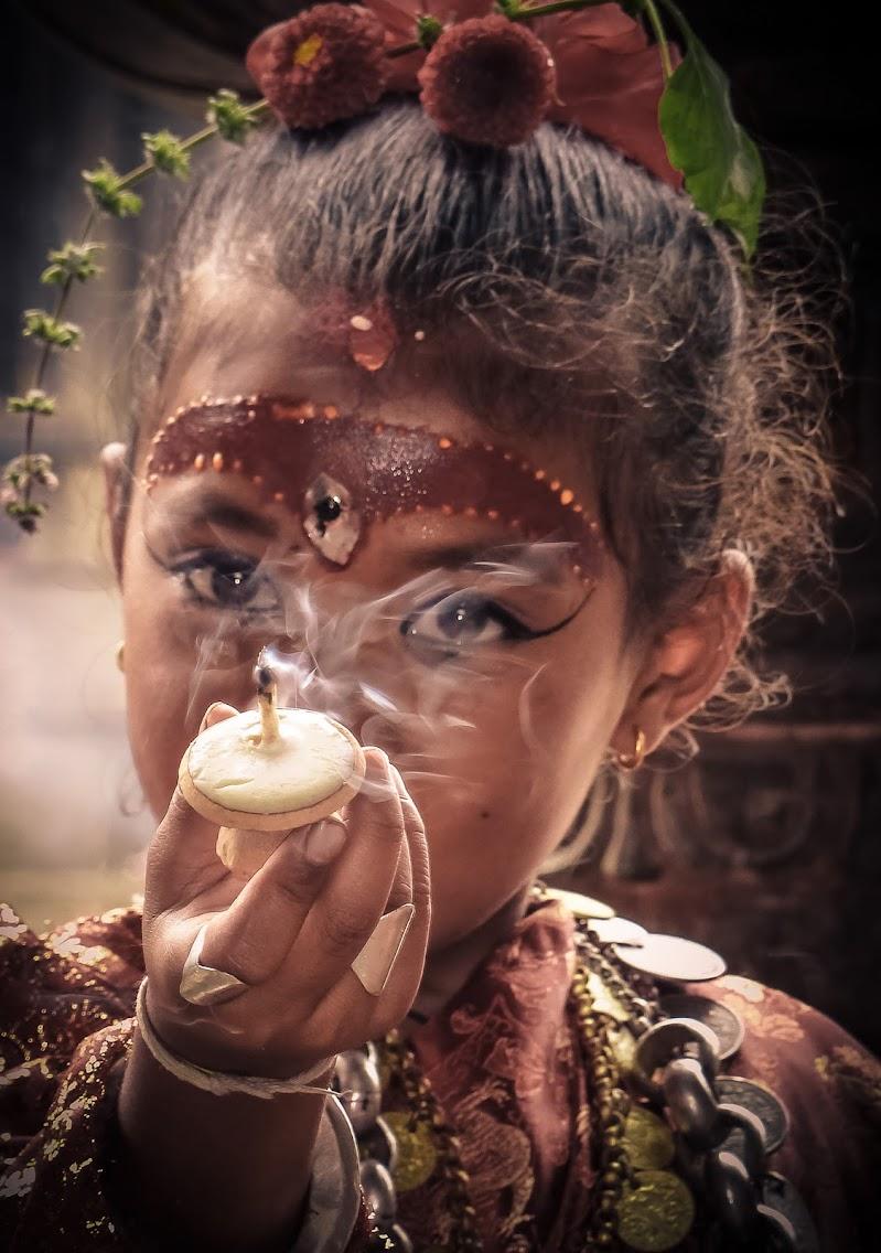 Nepali Holy Candle di NickAdami