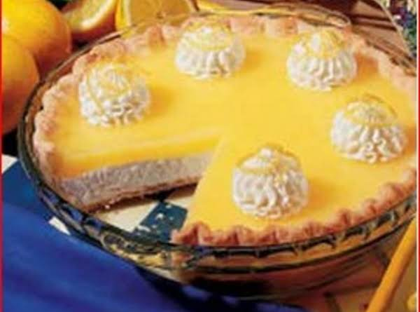 Lemon Topped Cheese Cake