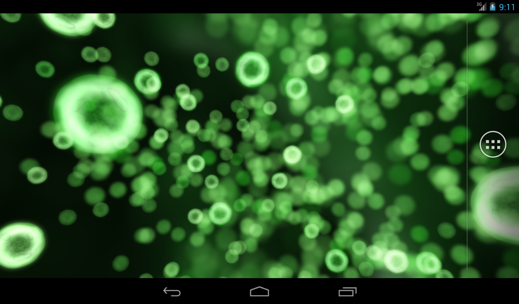 Neon Microcosm Live Wallpaper- screenshot