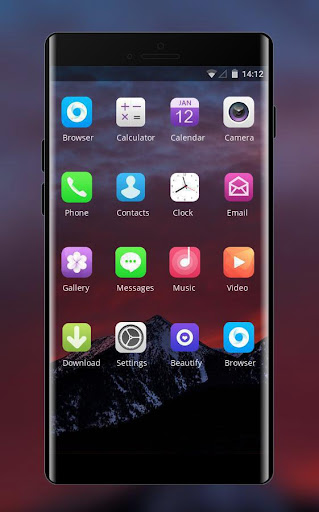 Theme For Oppo A37 Mountain Dark Wallpaper Apk Download Apkpure Co