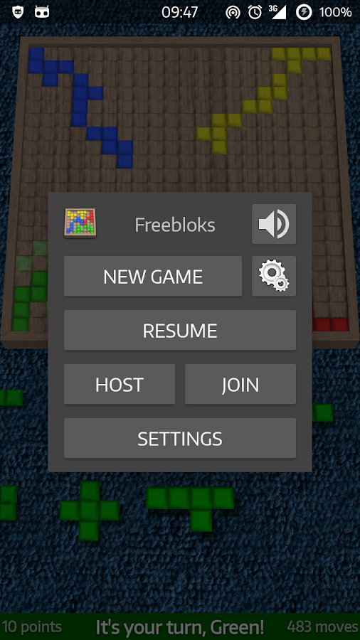 Freebloks VIP- screenshot