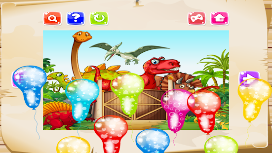 Dinosaur Jigsaw Puzzle Free For Kids- screenshot thumbnail