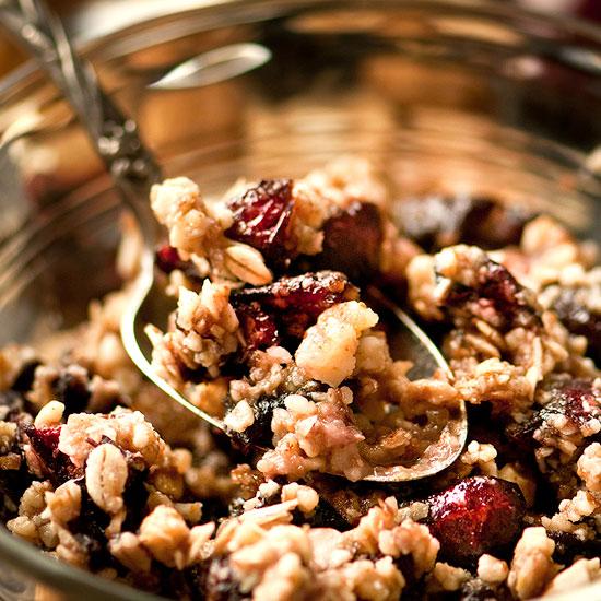 Raw Cherry Crisp Recipe